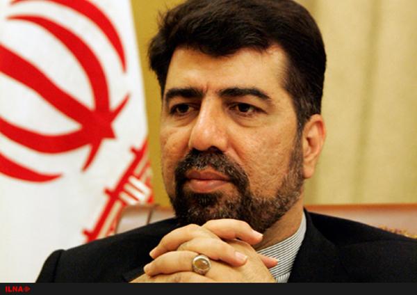 غضنفر رکن ابادی سفیر ایران در لبنان