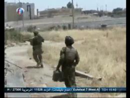 انهدام 200 خودرو داعش در مسیر سامرا