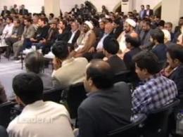 دیدار شعرا و رهبری - حجت الاسلام اخلاقی