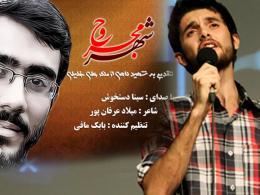 ترانه شهر مجروح به یاد شهید علی خلیلی با صدای سینا دستخوش