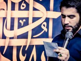 مداحی کربلایی حسین طاهری در محکومیت توهین به امام هادی(ع) و حضرت عباس(ع)