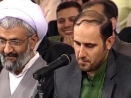 شعرخوانی آقای عباس احمدی در حضور رهبر انقلاب