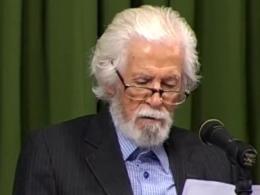 شعرخوانی آقای حمید سبزواری در حضور رهبر انقلاب