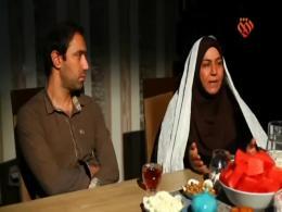 افطاریه - همسر شهید نوری