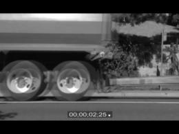 کارگردانی صحنه برخورد با خودرو