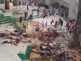 سقوط مرگبار جرثقیل در مسجدالحرام