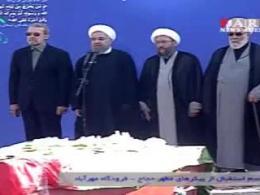 سخنان روحانی در مراسم استقبال از پیکرهای جانباختگان فاجعه منا