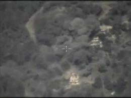 حمله روسها به انبار مهمات تروریست ها درسوریه