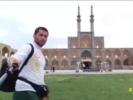 سلفی هیجان انگیز با کل ایران