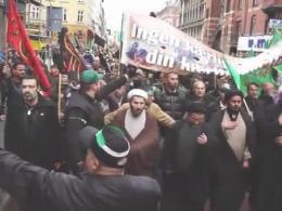 کلیپ گفتم چه سازم با غمت - عزاداری در کشور دانمارک با صدای میثم مطیعی (عربی-فارسی)