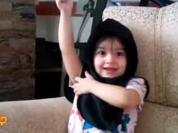 دختر شیرین زبان|سرباز 3 ساله رهبر
