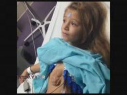 دختر روسي كه قلبش بيرون از بدنش است