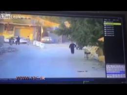 لحظه انفجار بمب در عراق