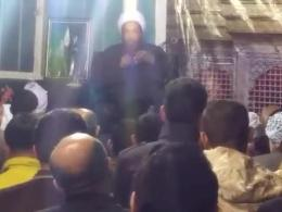 نوحه خوانی زیبای  استاد منظوری امام زاده در شب 28 صفر 94