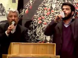 مداحی حاج صادق آهنگران و حاج میثم مطیعی در مراسم اختتامیه جشنواره مردمی فیلم عمار