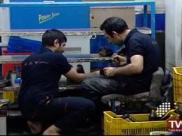 کفش های ایرانی با برند خارجی در بازار