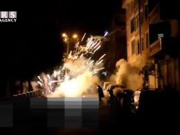 اعتراض آتشین کردهای استانبول به ممنوعیت جشن نوروز