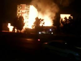 انفجار هولناک جایگاه غیر مجاز ال پی جی در اهواز حادثه آفرید