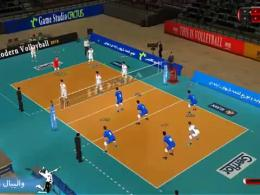 ویدئویی از بازی ایرانی والیبال مدرن