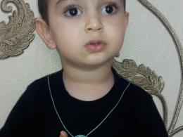 مداحی کودک 2 ساله ، سیدمحمد محمدیان در مورد امام خامنه ای