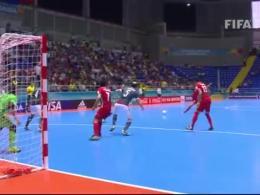 خلاصه دیدار تیم های فوتسال ایران - پاراگوئه