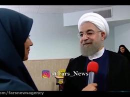 روحانی:فکرنمیکردم رئیس جمهور شوم/میخواستم عالم دینی بشوم