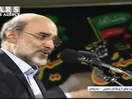 مداحی علی عسگری رئیس صدا و سیما