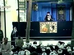 روضه مرحوم کوثری، در اولین محرم پس از رحلت امام