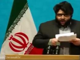 انتقاد شدیداللحن یک دانشجو در حضور روحانی - روز دانشجو