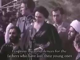 سخنان تاریخی امام خمینی در بهشت زهرا که هیچگاه فراموش نمیشود