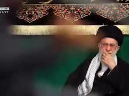 ذكر مصائب حضرت زهرا توسط محمود کریمی در حضور رهبر انقلاب