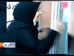 اعتراض و فریادهای یک زن بر سر استاندار خوزستان!