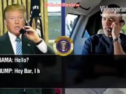 گفتگوی تلفنی ترامپ و اوباما درباره ولنتاین