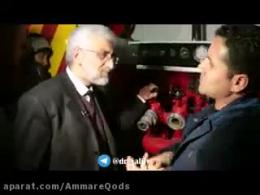 در حاشیه حضور دکتر جلیلی در مسجد جامع شهرستان قدس