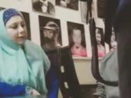 گفتگوی تکان دهنده بهنوش بختیاری با فرزند شهید مدافع حرم