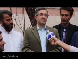 فیلم بغض اسفندی اسفند یار مشایی در مقابل دوربین