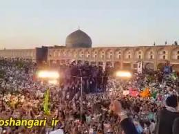 استقبال بی نظیر از رئیسی در اصفهان