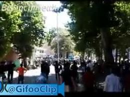 تجمع مالباختگان خشمگین بانک توسعه در خرم آباد