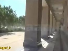 لحظه انفجار انتحاری در بیرون حرم امام خمینی +18