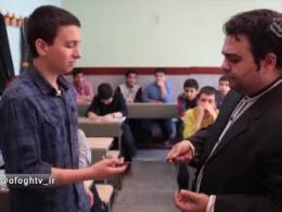 اشاره - معلم با مرام!