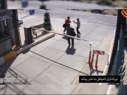 لحظه ورود تروریست ها به حرم حضرت امام خمینی(ره)