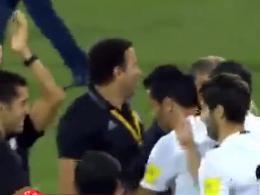 خوشحالی دیدنی و جالب کارلوس کیروش پس از پایان بازی ایران