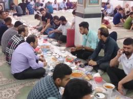 مستند ضیافت افطاری ساده در مسجد امام جعفر صادق ساری