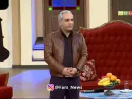 کنایه مهران مدیری به برخورد دولت با بحرانها