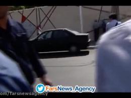 حمله حراست سازمان حج به خبرنگاران وشکستن دوربینها !