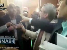 درگیری لفظی معاون شهردار تهران با حافظی
