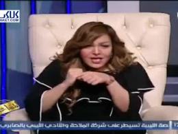 مصرف مواد مخدر در برنامه زندۀ تلویزیون مصر!