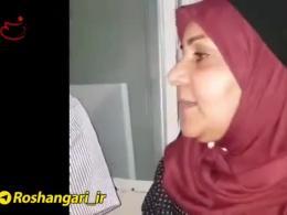 لحظات به دام افتادن سارق كودك ٣ساله توسط مردم در خيابان منتظری تهران