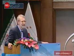 شوخی کنایهآمیز لاریجانی با وزیر بهداشت