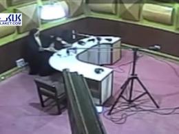 حمله قلبی گوینده خبر رادیو گلستان حین اجرای زنده!